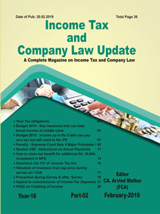 Income Tax and Company Law Update English