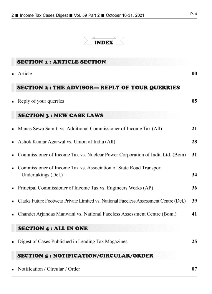 Income-Tax Cases Digest Magazine Page 2