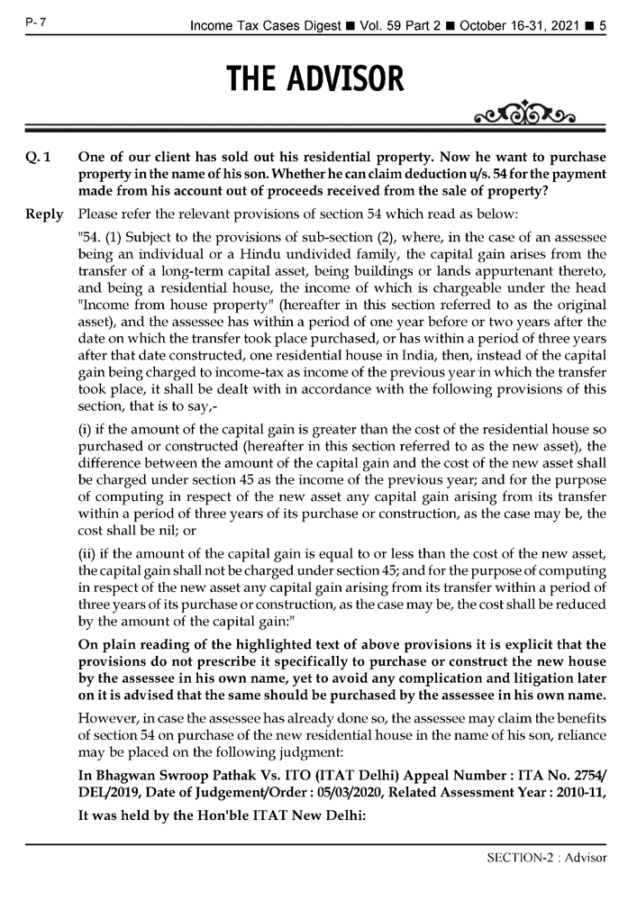 Income-Tax Cases Digest Magazine Page 5