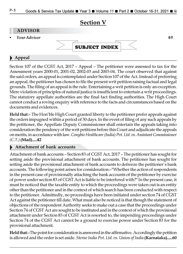 GST-Tax Update Magazine Page 3