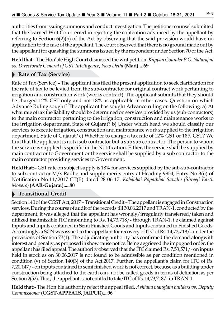GST-Tax Update Magazine Page 6