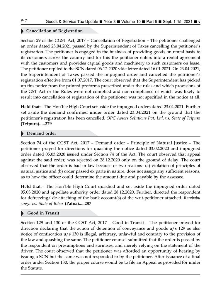 GST-Tax Update Magazine Page 5