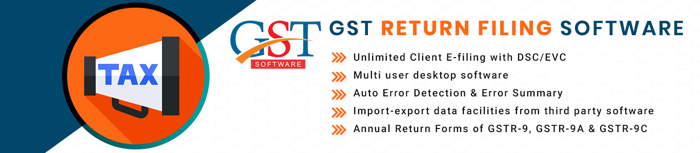 Download GST Return Software